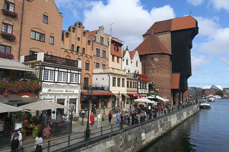 Ting å gjøre i Gdansk, bryggen